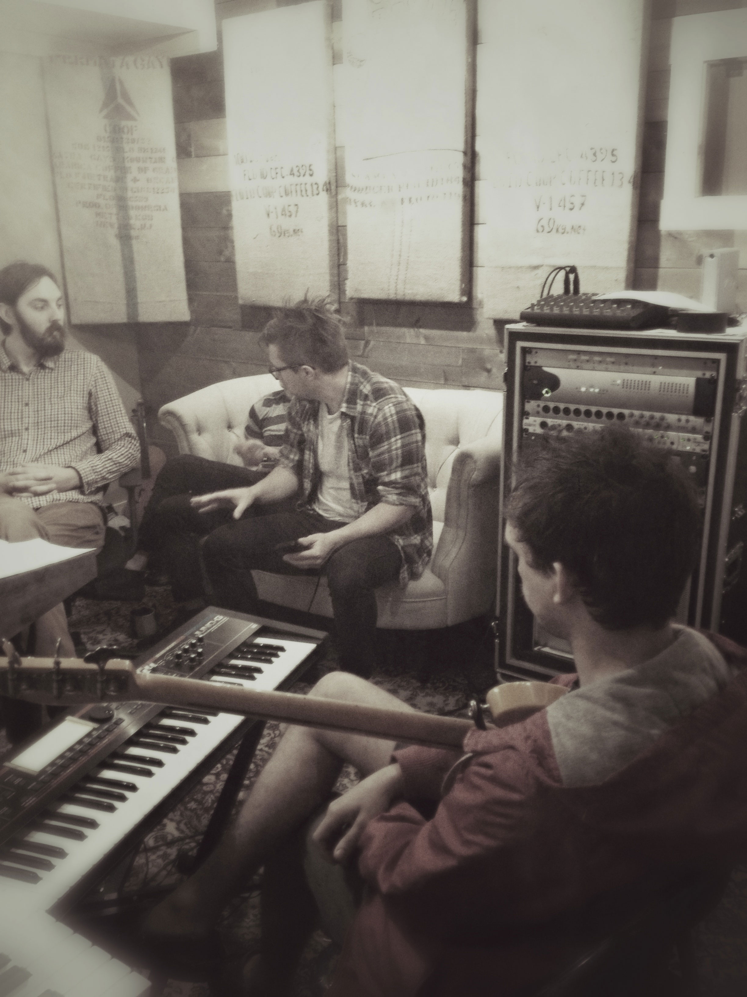 Kopecky Family Band In The Studio