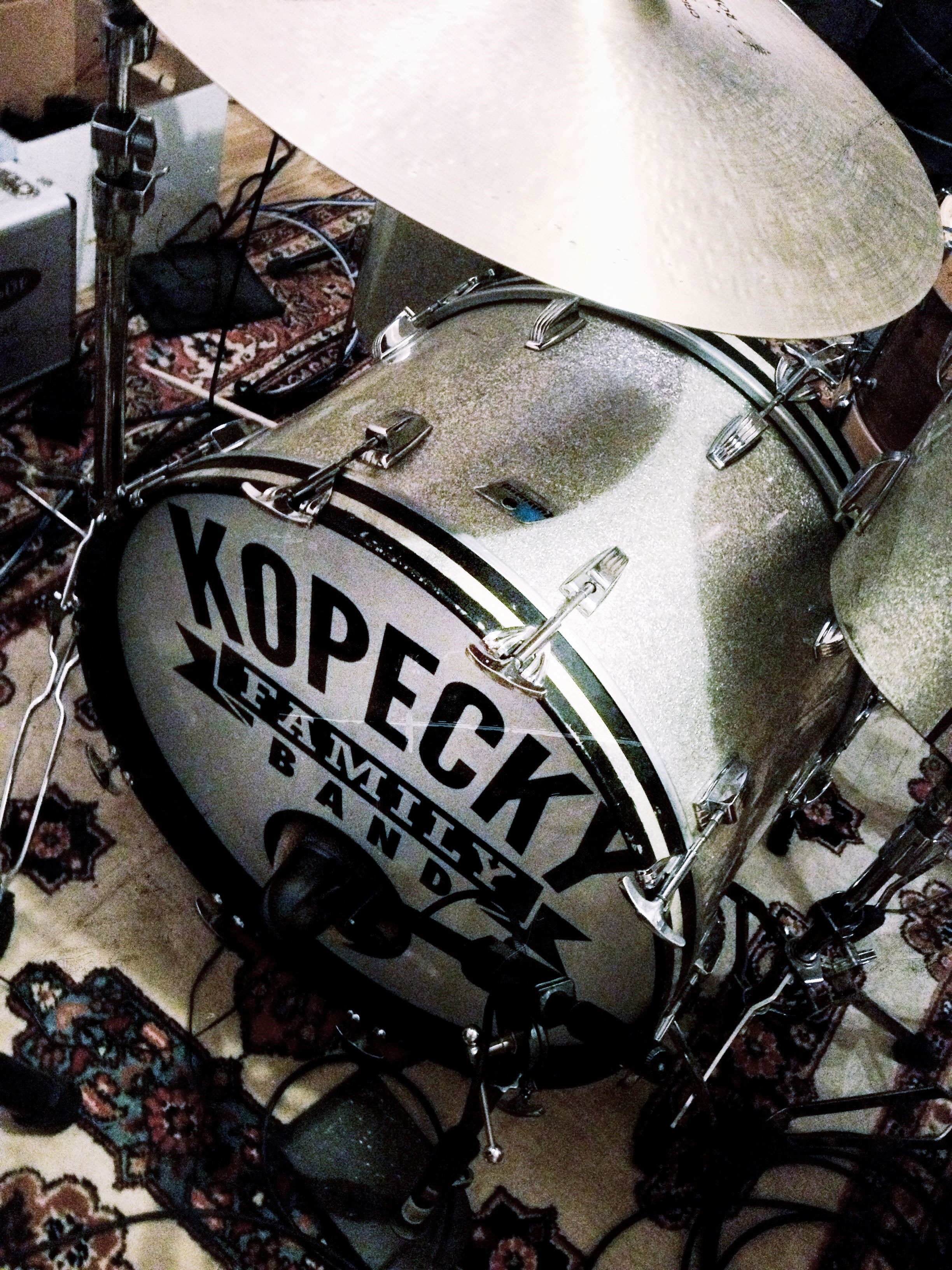 Kopecky Family Band Kick Drum